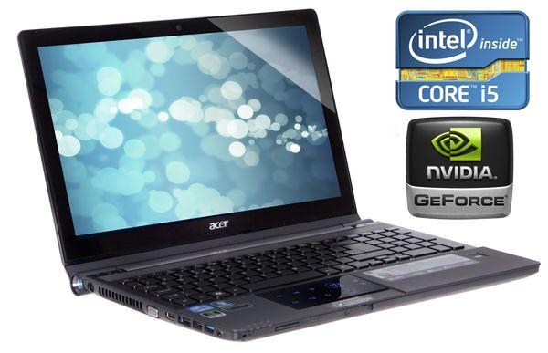 "Acer Ethos 5951g Laptop, Core I5-2410m 2.3ghz, 8gb Ram, 750gb Hdd, 15.6"" Hd, Dvdrw, Gf Gt540m, Webcam, Windows 7 Home Premium 64"