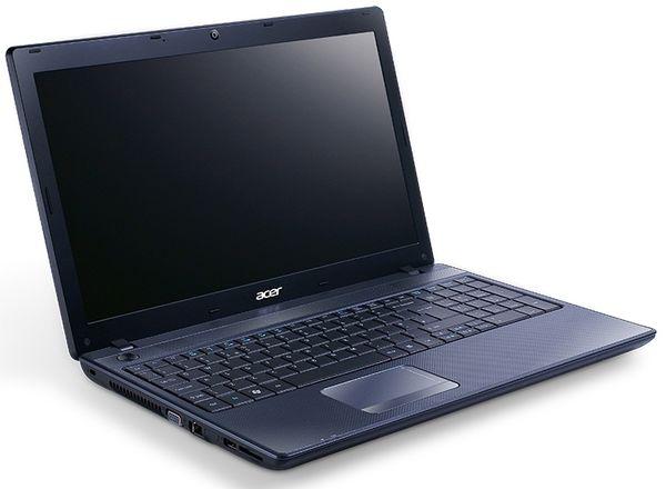 "Acer Travelmate 5744 Laptop, Intel Core I3 380m 2.53ghz, 320gb Hdd, 4gb Ram, 15.6"" Hd Led, DVD±rw, Gma, Webcam, Windows 7 Home Premium 64"