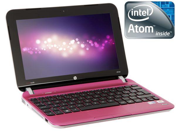 "Hp Mini 210-4122ea Netbook, Intel Atom N2800 1.9ghz, 1gb Ram, 320gb Hdd, 10.1"" Led, Noopt, Intel Gma, Webcam, Bluetooth, Matte Luminous Rose, Windows 7 Starter 32bit"