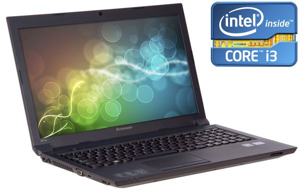 "Lenovo B570 Laptop, Intel Core I3 2350m 2.3ghz, 500gb Hdd, 4gb Ram, 15.6"" Hd Led, DVD-rw, Intel Hd, Webcam, Windows 7 Home Premium"