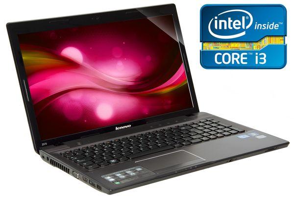 "Lenovo Ideapad Z570 Laptop, Intel Core I3 2350 2.3ghz, 4gb Ram, 500gb Hdd, 15.6"" Hd Led, Dvdrw, Intel Hd, Webcam, Windows 7 Home Premium 64"