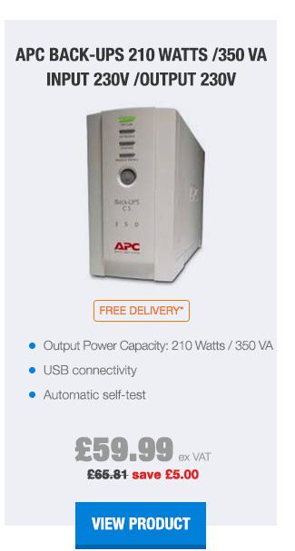 APC Back-UPS 210 Watts