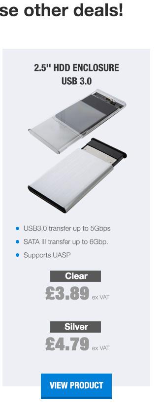 HDD Enclosure USB 3.0