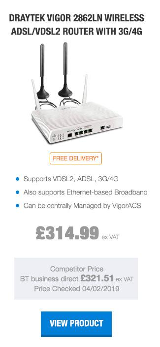 DrayTek Vigor 2862Ln Wireless ADSL Router