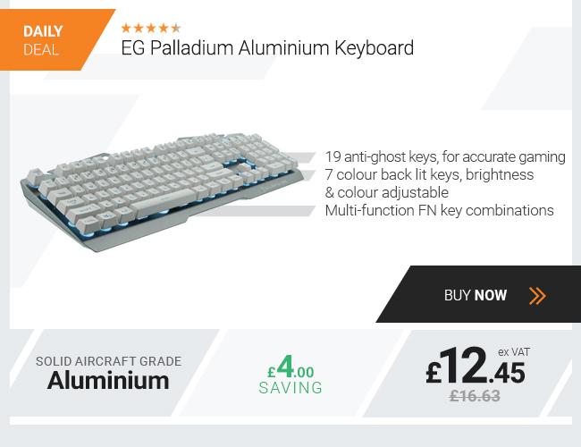 EG Palladium Aluminium Keyboard