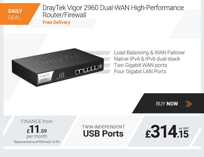 DrayTek Vigor 2960 Dual-WAN High-Performance Router Firewall