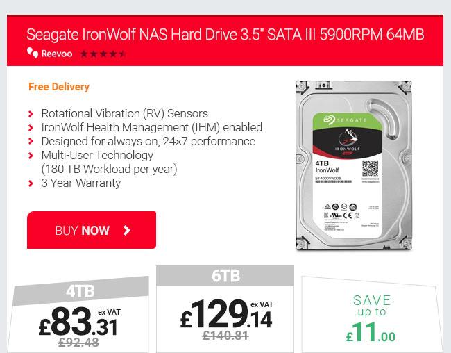 Seagate IronWolf NAS Hard Drive