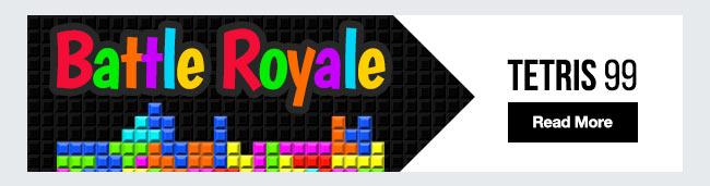 Tetris 99 new battle royale game
