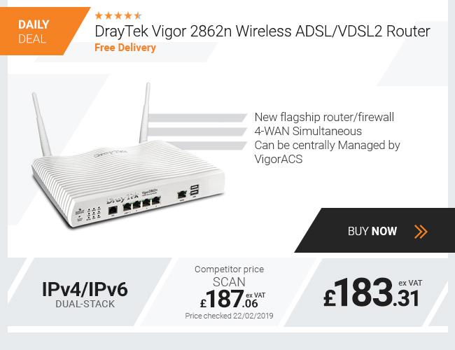 DrayTek Vigor 2862n Wireless ADSL/VDSL2 Router