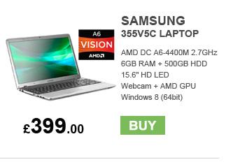 Samsung 355V5C Laptop - £399.00