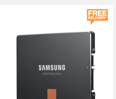 Samsung 250GB 840 Series SSD - £124.99
