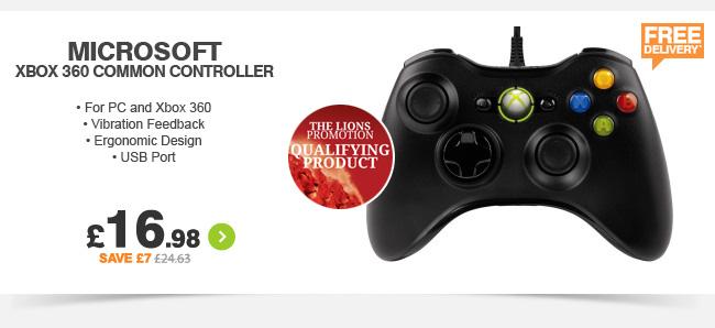Microsoft Xbox 360 Common Controller - £16.99