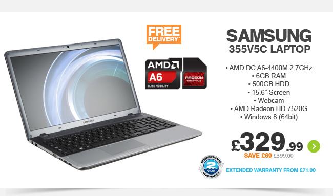 Samsung 355V5C Laptop - £329.99