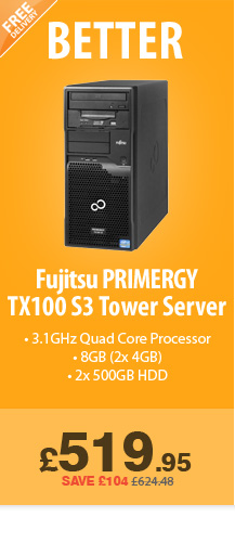 PRIMERGY TX100 - £519.99