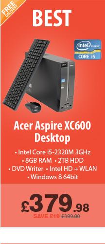 Aspire XC600 - £379.99