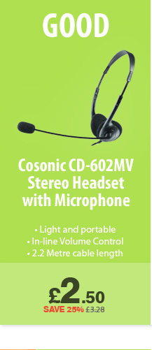 Casonic Headset - £2.50