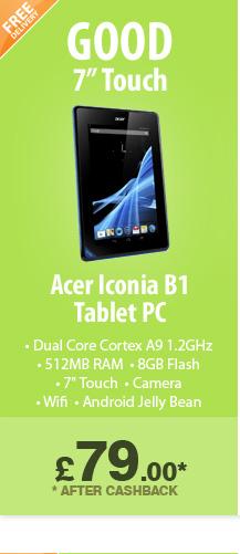 Acer Iconia B1 - £79.99*