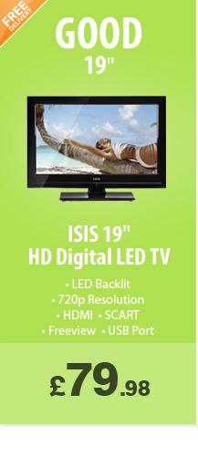 19in LED  - £79.99