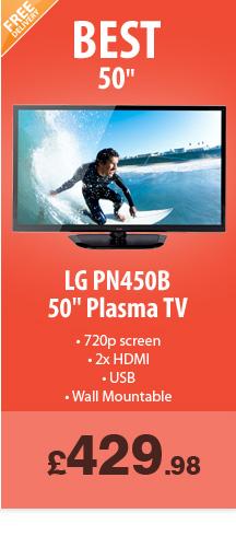 LG 50in Plasma - £429.98
