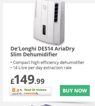 DeLonghi DES14 AriaDry Slim Dehumidifier- £149.99