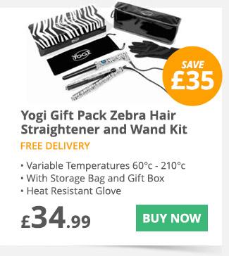 Yogi hair wand gift set - £34.99