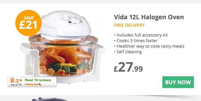 Vida Halogen Oven - £27.99