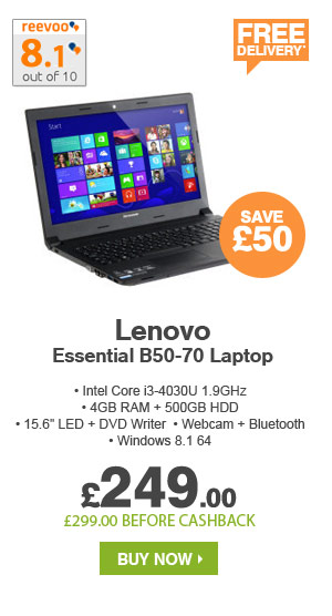 Lenovo Essential B50-70 Laptop
