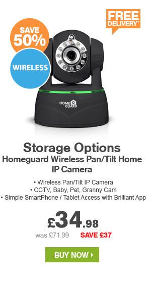 Wireless Pan Tilt Home IP Camera