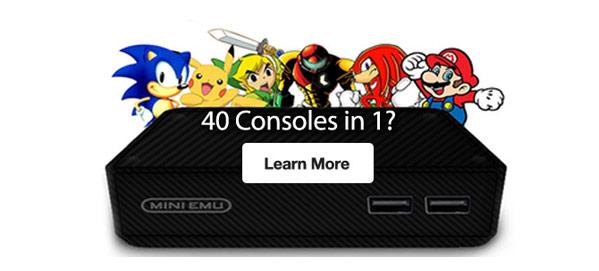 40 Consoles in 1