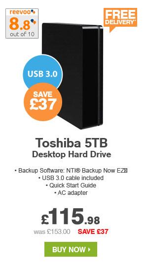 5TB Toshiba Desktop Hard Drive
