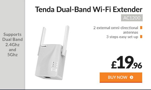 Tenda AC1200 Dual-Band Wi-Fi Extender