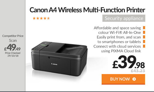 Canon PIXMA MX495 A4 Wireless Multi-Function Inkjet Printer
