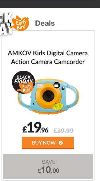 AMKOV Kids Digital Camera Action Camera Camcorder