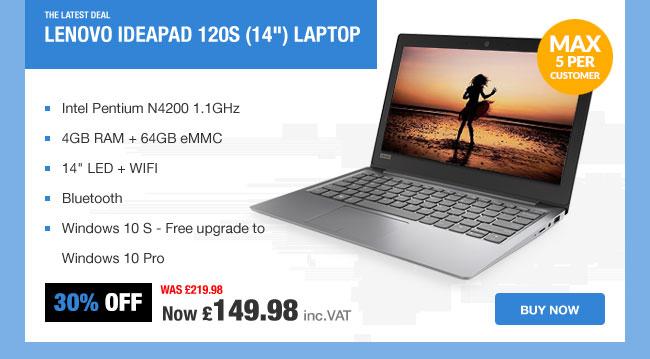 Lenovo Ideapad 120S Laptop