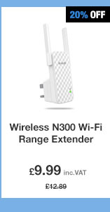 Wireless N300 Wi-Fi Range Extender