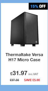 Thermaltake Versa H17 No Win