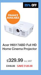 Acer H6517ABD Full HD Home Cinema Projector