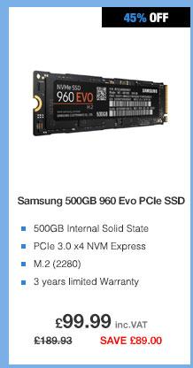 Samsung 960 NVME