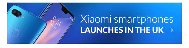 Xiaomi smartphones launches in the UK
