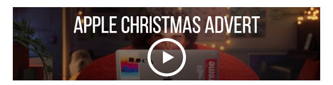 Take a look at the new Apple Christmas advert
