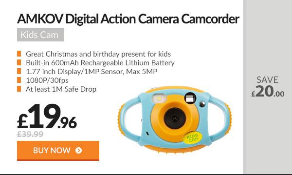 AMKOV Children Durable Camera