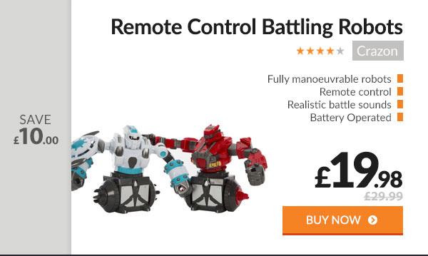Remote Control Battling Robots