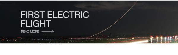 First electric aircraft flight