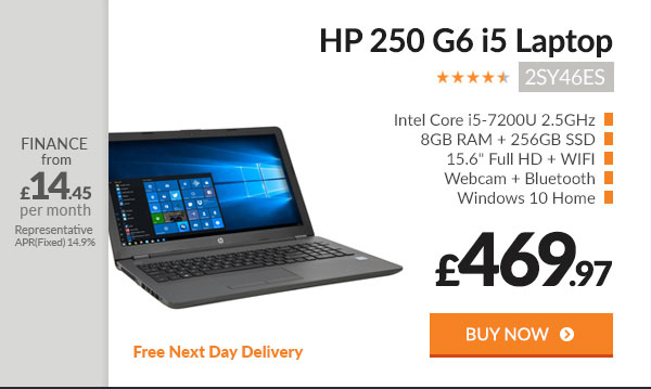HP 250 G6 i5 Laptop 2SY46ES