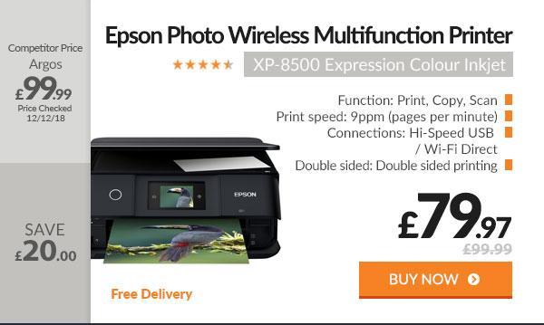 Epson XP-8500 Expression Photo