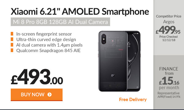 Xiaomi Mi 8 Pro 6.21in AMO