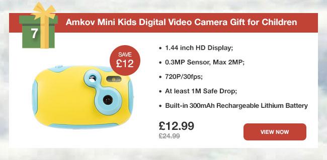 Amkov Mini Kids Digital Video Camera Gift for Children