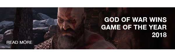 God Of War wins game of the year 2018