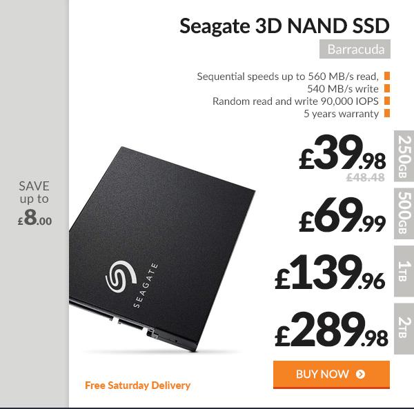 Seagate Barracuda 3D NAND SSD