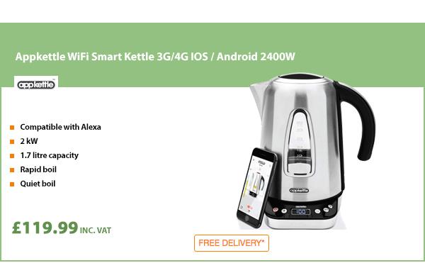 Appkettle WiFi Smart Kettle 2400W